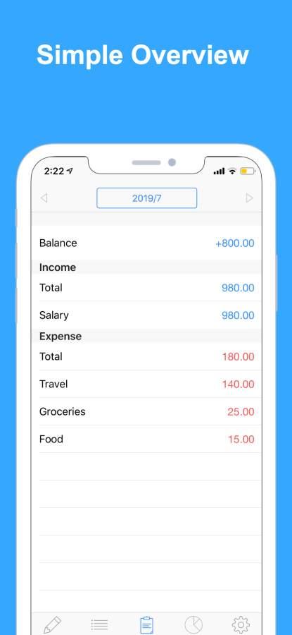 Zeny 快速简单的家庭记账应用截图1