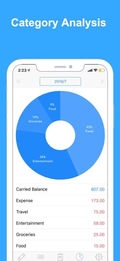 Zeny 快速简单的家庭记账应用截图2