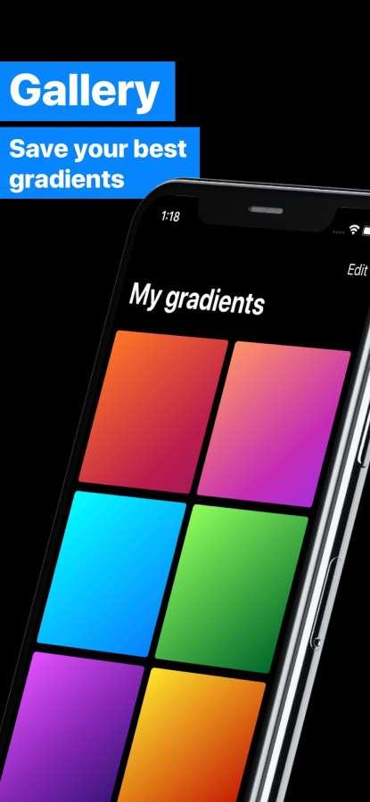 Gradients Maker Design Tool HD截图2