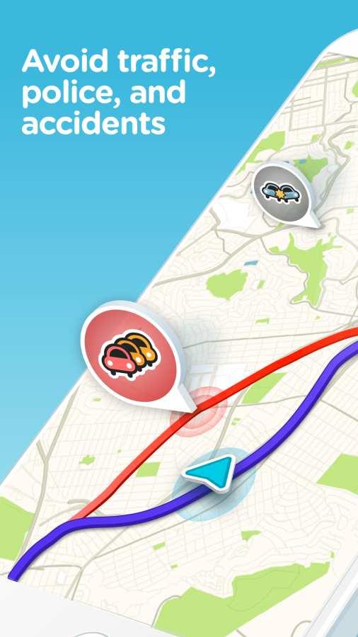 Waze交通达人截图0