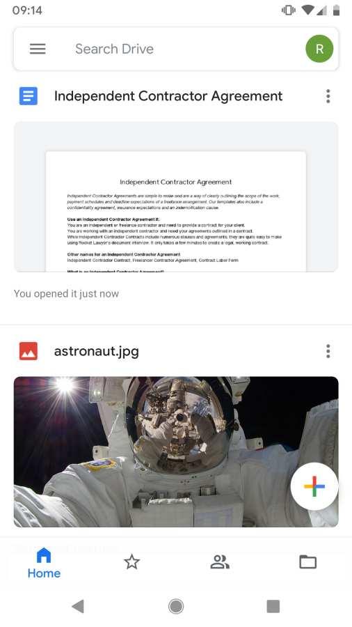 谷歌云端硬盘截图0