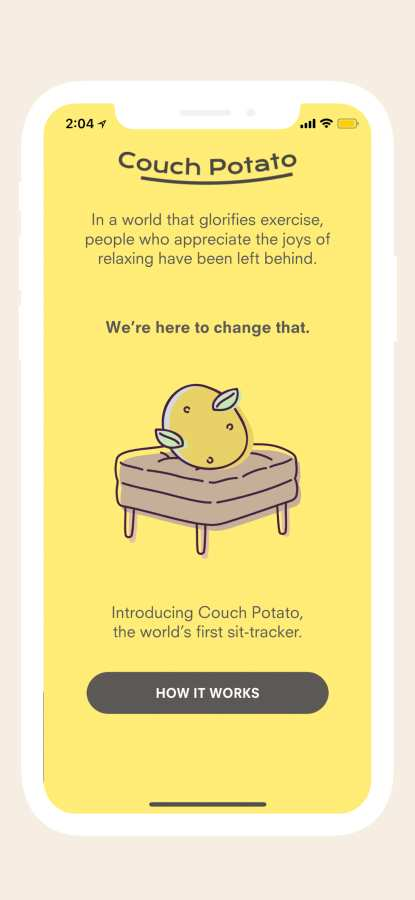 Couch Potato – Sit Tracker截图1
