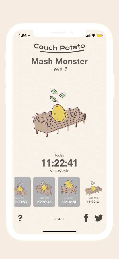 Couch Potato – Sit Tracker截图2