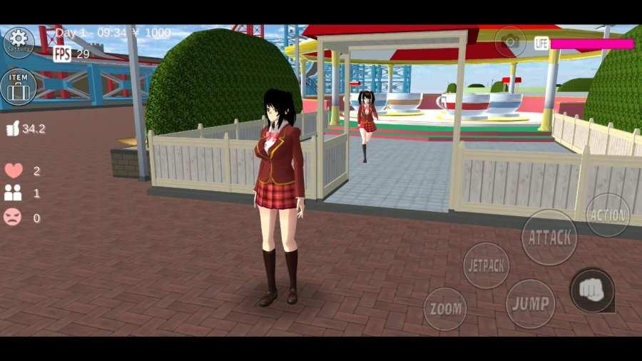 櫻花校園模擬器截圖2