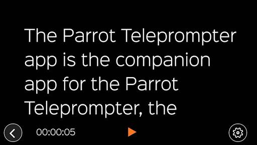 Parrot Teleprompter截图3