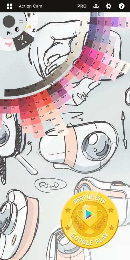 概念画板 - 绘图、设计、插画。