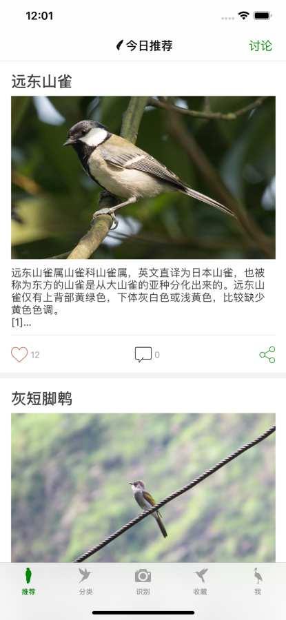 鸟 - 鸟类百科截图0
