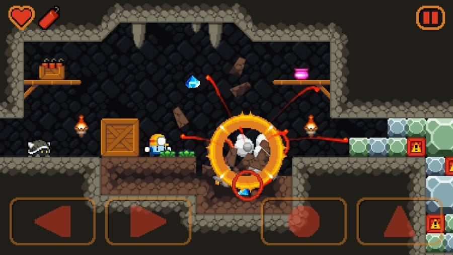 礦井爆破截圖2