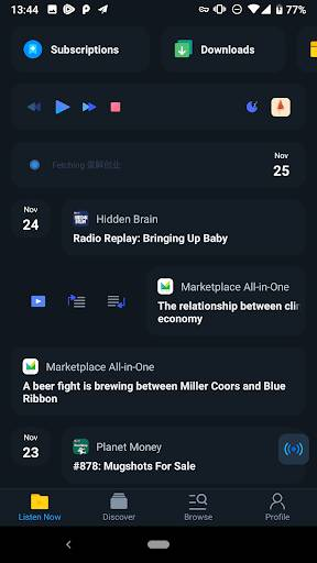 Moon FM - Podcast & Radio Player截图2