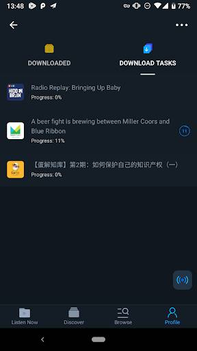 Moon FM - Podcast & Radio Player截图3