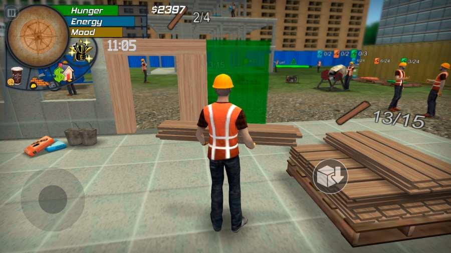 大城市生活:模拟器截图0