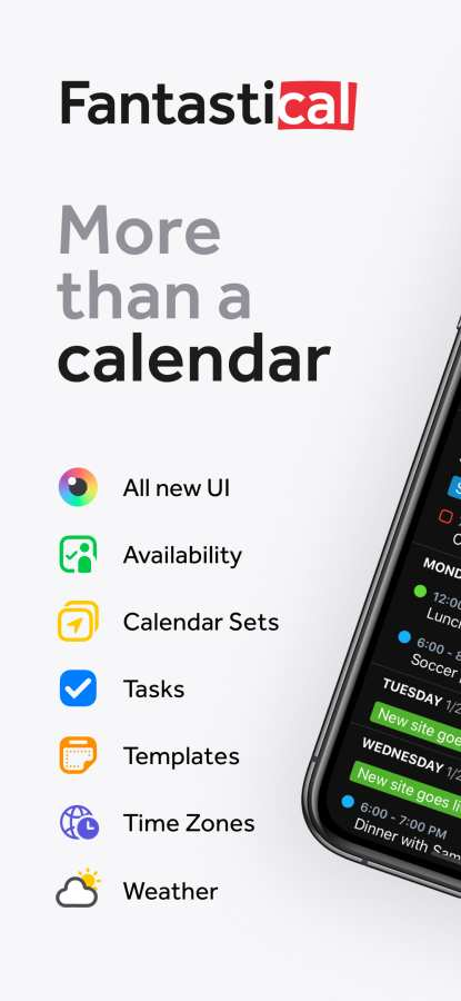 Fantastical - Calendar & Tasks截图0