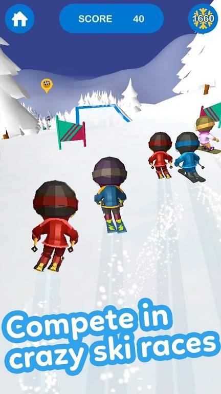 滑雪大冒险3D截图1