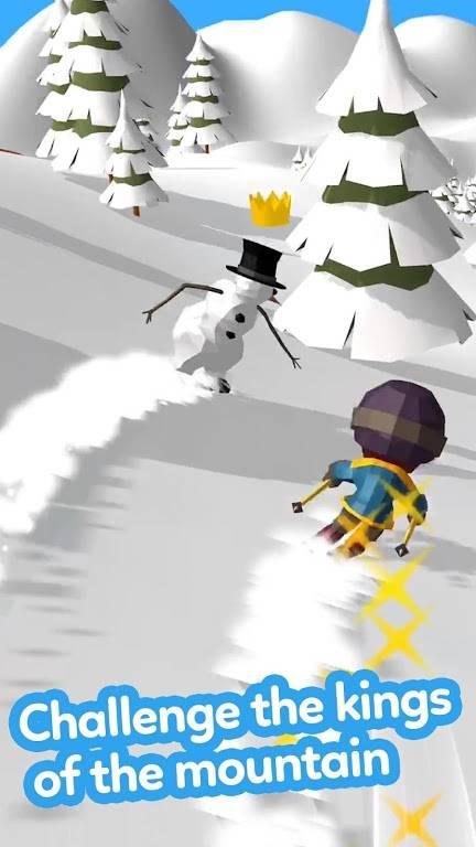 滑雪大冒险3D截图3