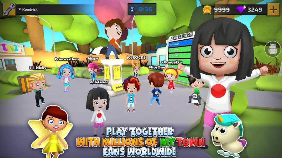 我的小镇:游戏世界 测试版截图4