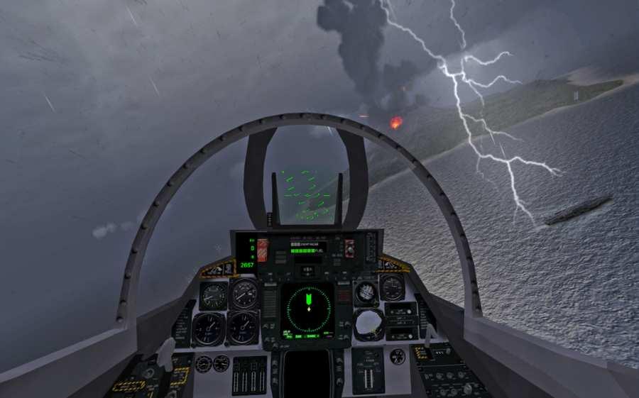 F18舰载机模拟起降2截图1