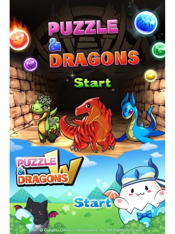 智龙迷城 日服版 Puzzle&Dragons截图0