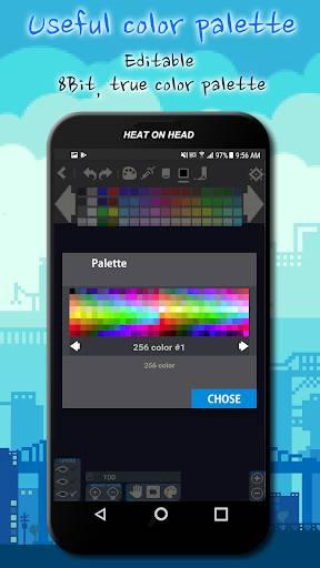 Pixel Art paint Pro截图3