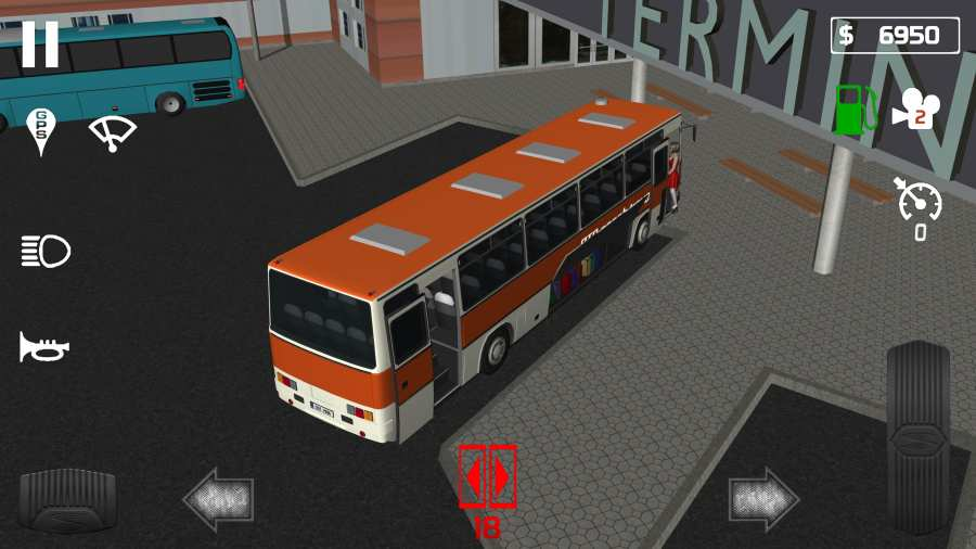 公交车模拟器:客车截图3