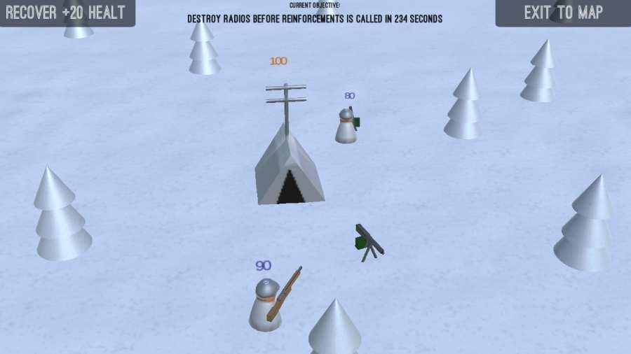 点点士兵:冬日漫长截图0