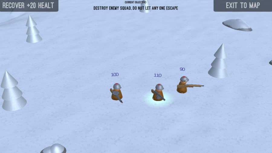 点点士兵:冬日漫长截图2