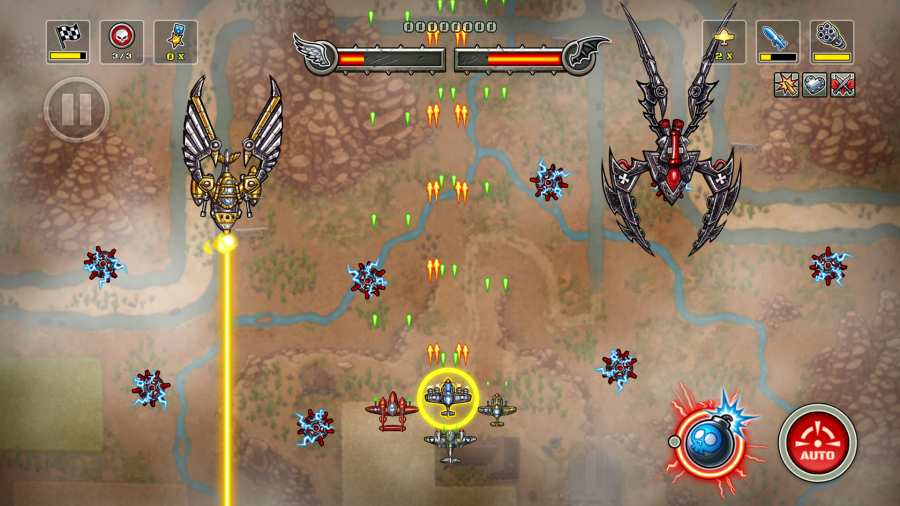 帝国神鹰:飞行中队截图0