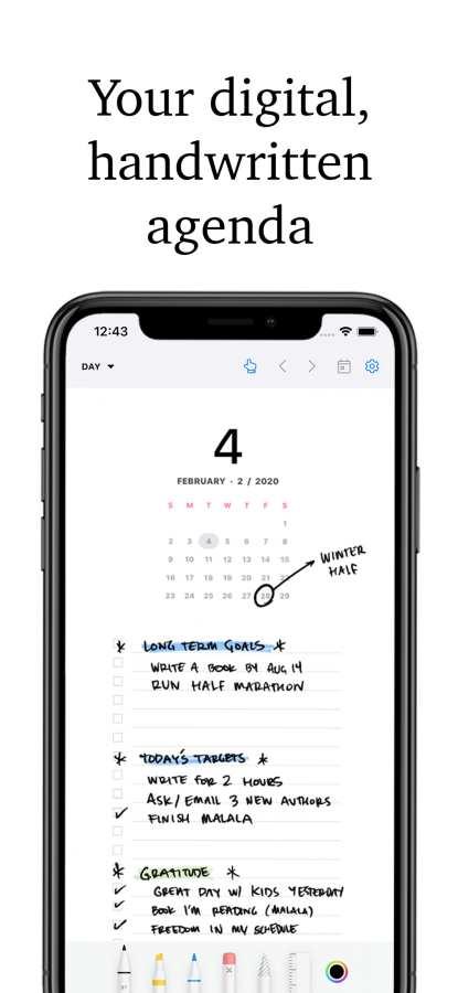 Pencil Planner & Draw Calendar截图0