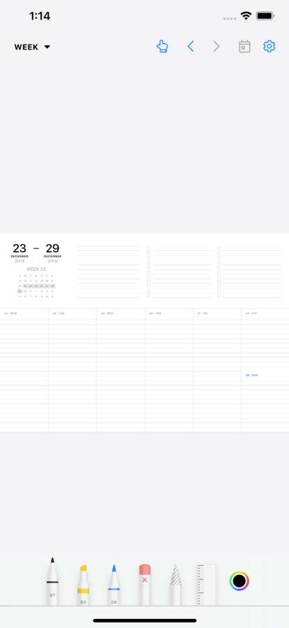 Pencil Planner & Draw Calendar截图4