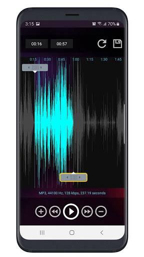 MP3 Cutter Ringtone Maker Free APK截图2