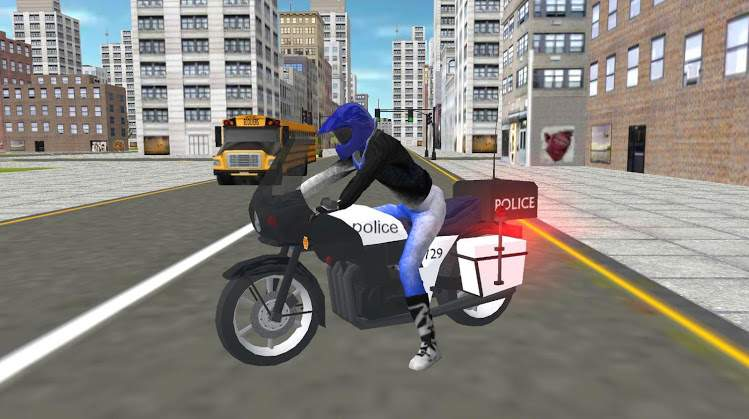 摩托车警察2020截图0