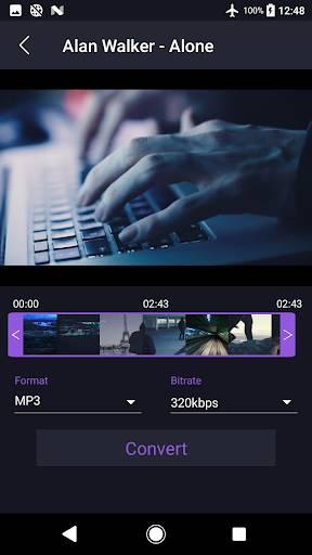 視頻到MP3轉換器截圖2