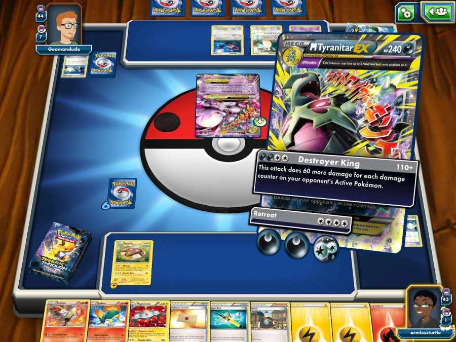 精灵宝可梦在线交换卡片游戏截图3