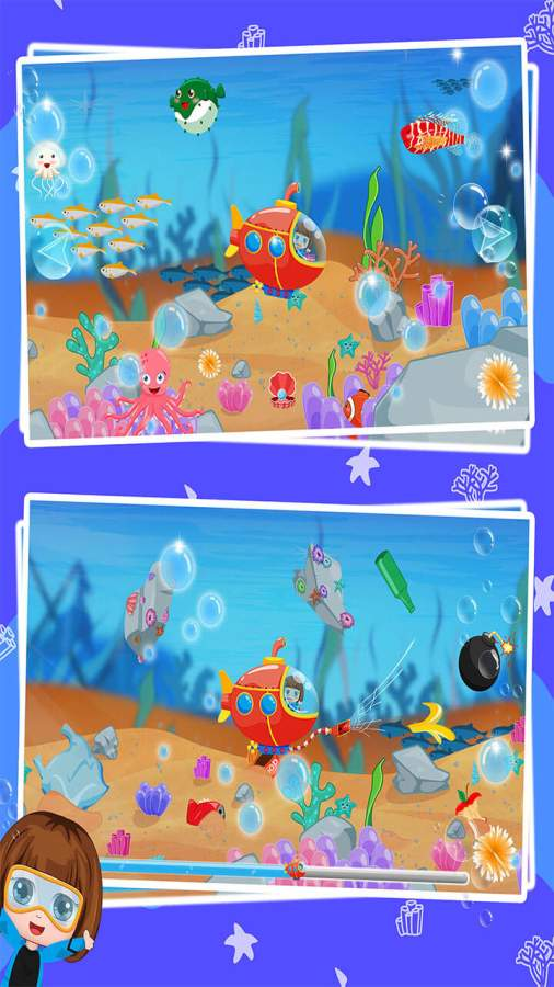 贝贝探索海底世界截图2