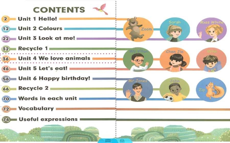 人教PEP英语三年级上册截图1