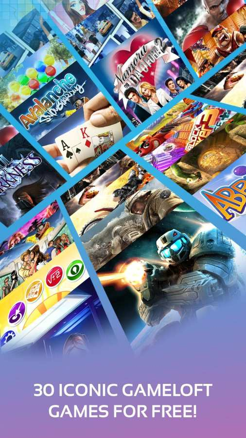 Gameloft经典游戏合集