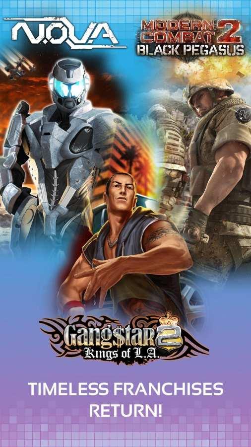 Gameloft经典游戏合集截图1