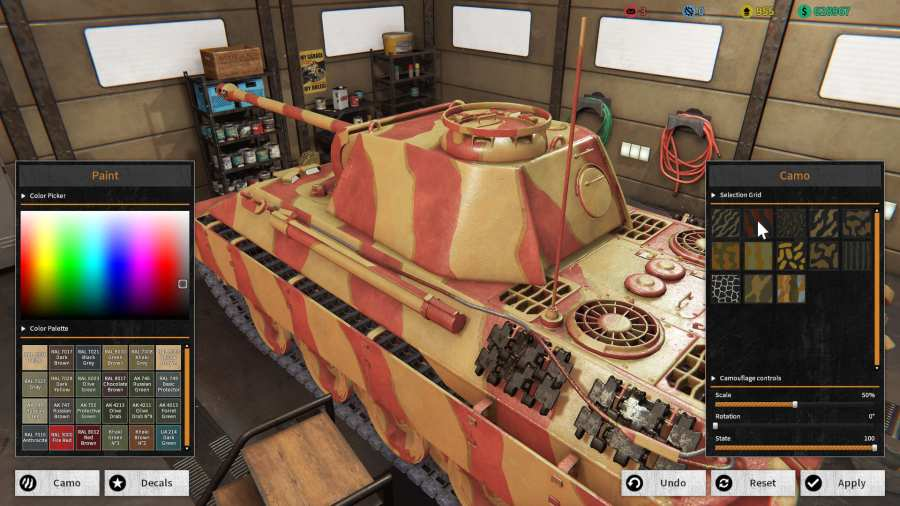坦克修理模拟器截图0