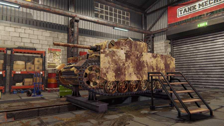 坦克修理模拟器截图4