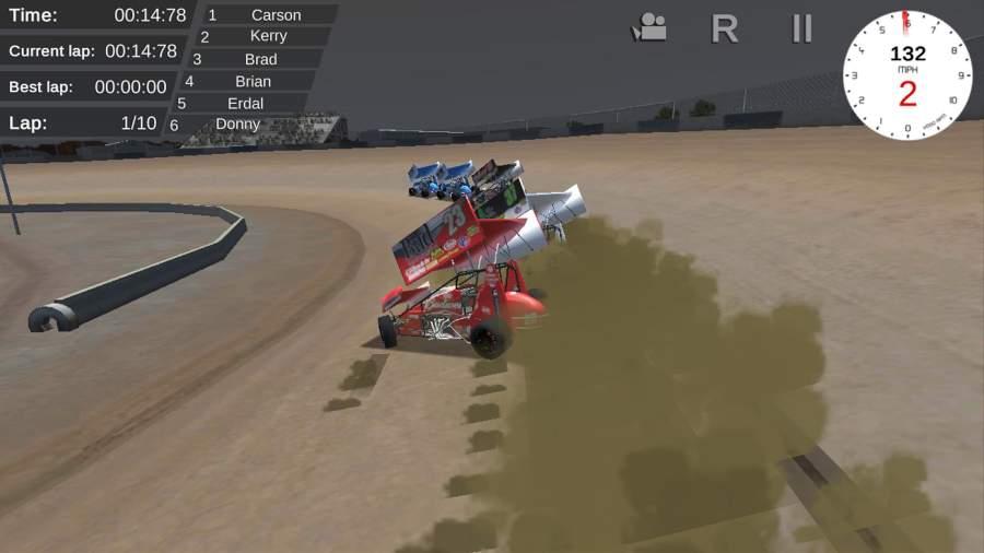 暴走赛车截图1