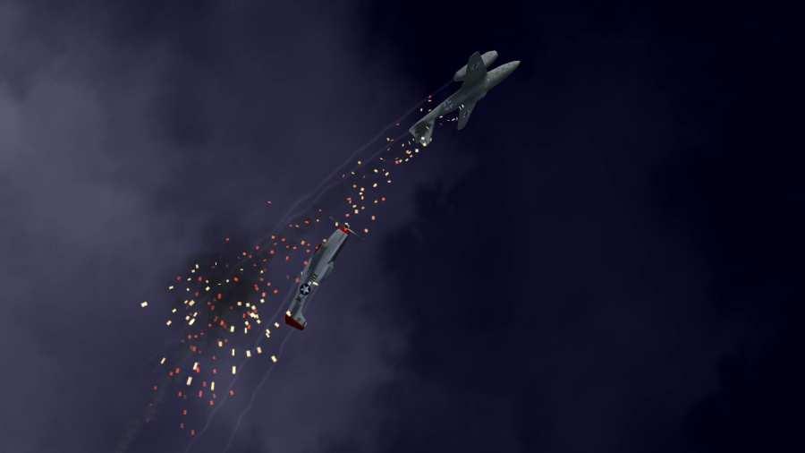 黑夜战机:二战空斗