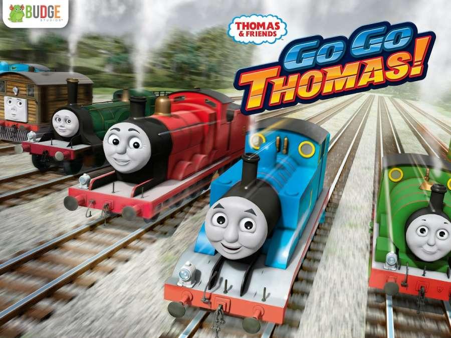托马斯和朋友:快跑,托马斯!—速度挑战截图0