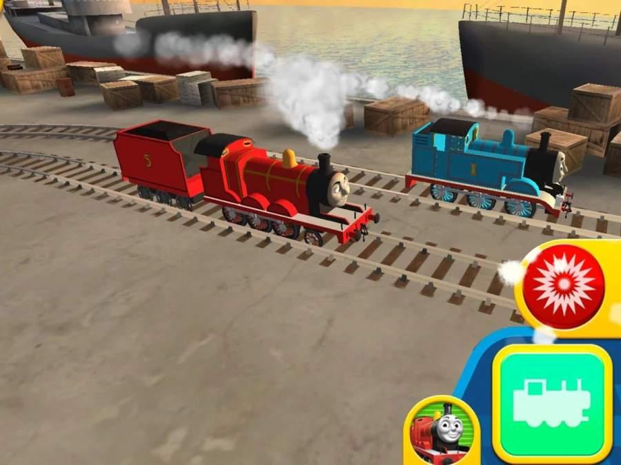 托马斯和朋友:快跑,托马斯!—速度挑战截图1