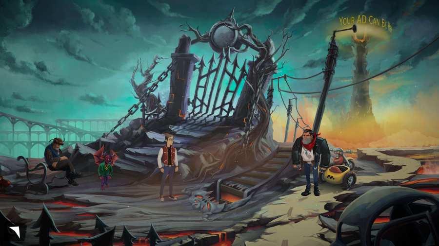 安吉洛和狄蒙:一個地獄般的探險截圖1
