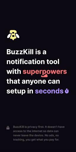 BuzzKill-通知超能力截图0