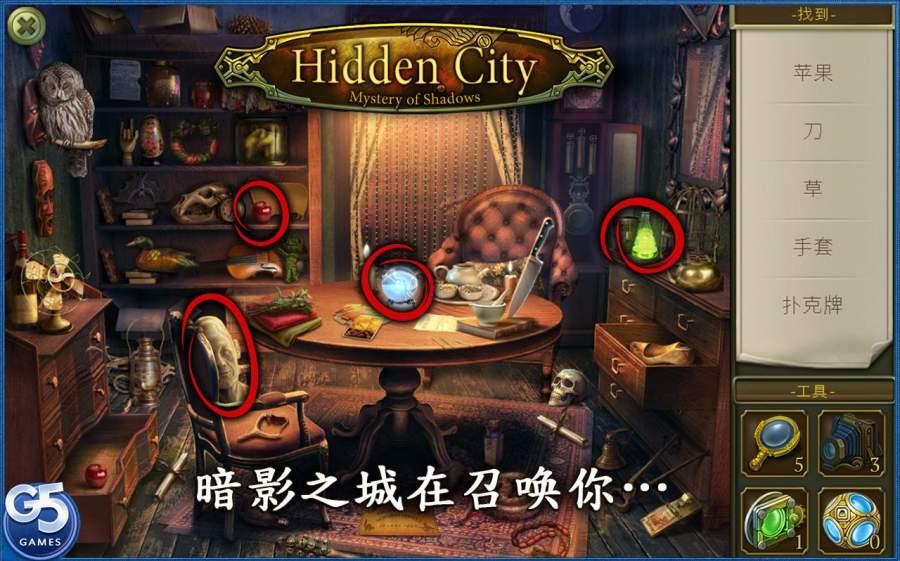 隐匿城市:神秘暗影截图3