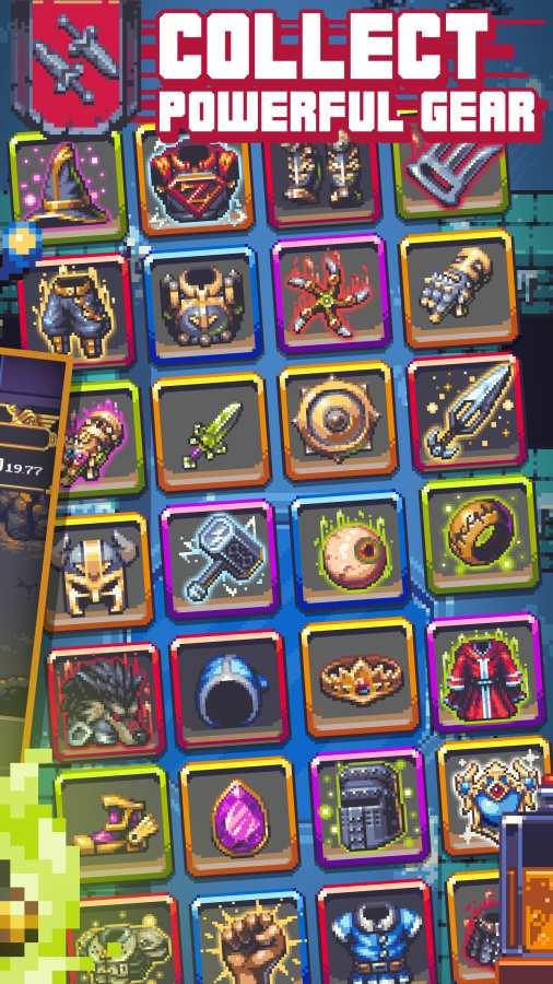 地下城:放置迷宫探索截图1