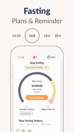 Fastic Fasting App截图0