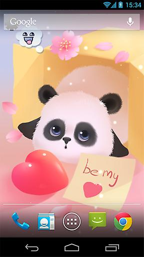 懒熊猫动态壁纸截图1