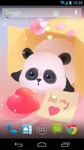 懒熊猫动态壁纸截图3