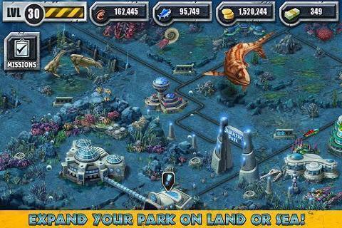 建设侏罗纪公园截图2